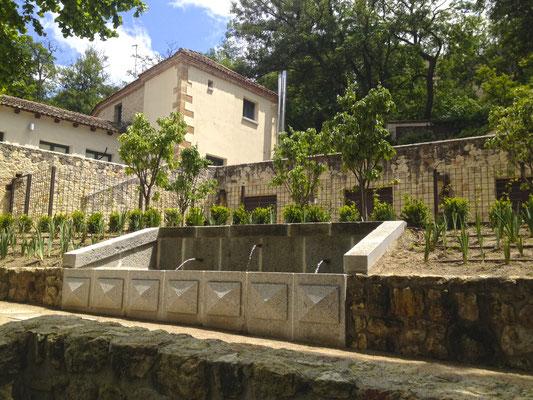 Jardín del Rey en La Casa de la Moneda de Segovia