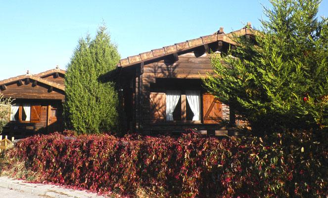 Cabañas Quercus en Peñarrubias de Pirón