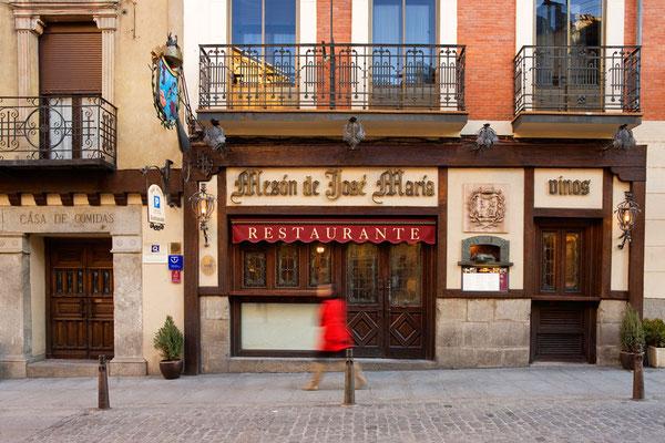 Fachada principal del restaurante José María