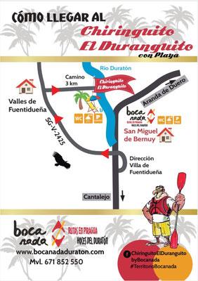 Cómo llegar al Chiringuito El Duranguito