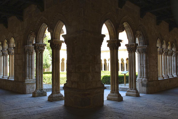 Claustro Monasterio Santa María la Real de Nieva