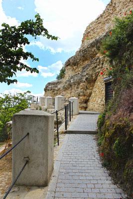Subida a la Cueva de la Zorra