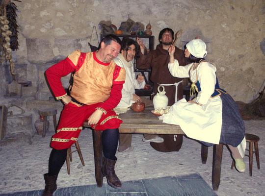 Visitas teatralizadas al castillo de Cuéllar