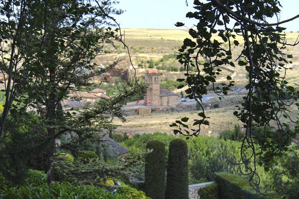 Vista de la Vera Cruz desde jardín de Fromkes