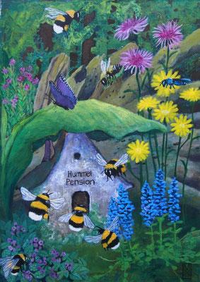 wildbienenmischung schattig