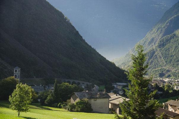 View towards Tirano