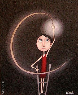 Ecoute la Lumière (41x33 cm) 2010