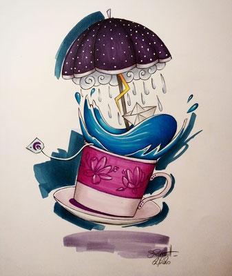 Storm in e Tea-cup, 2020
