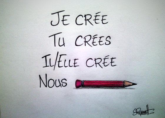 Sans Titre - Dessin post-Charlie Hebdo (24x32 cm) 2015