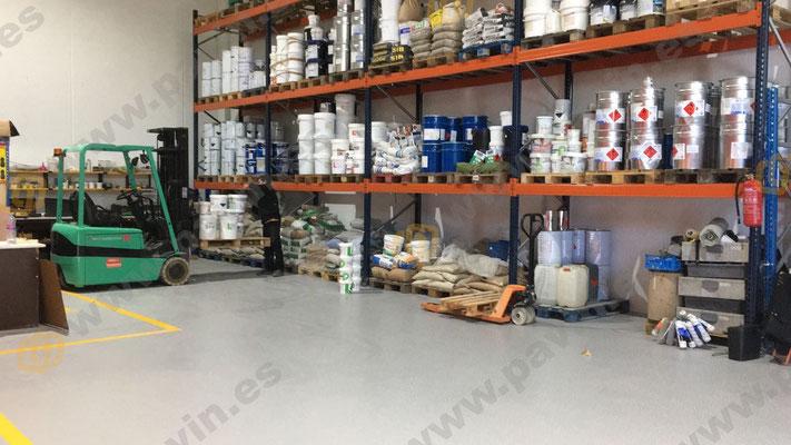 sòls-de resina per paviments industrials aplicats per grup pavin