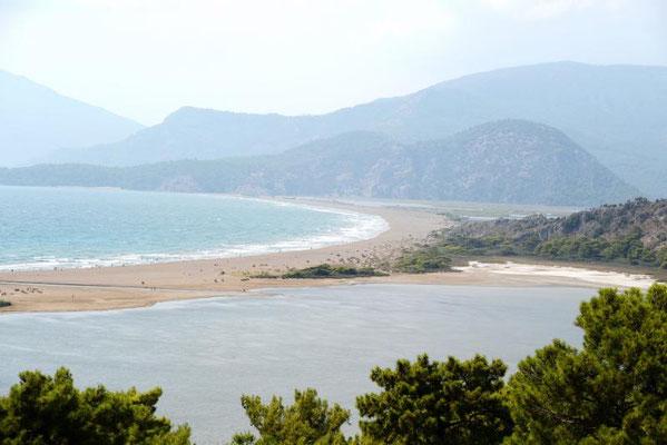 Iztuzu Beach – Schildkröten und Meer