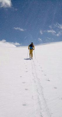 Gudauri: Ski - Plus Variante auf den Mount Sadzele