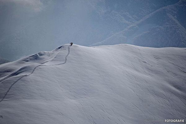 Gudauri: Im Osten des Skigebiets Mount Chrdili (Aufstieg ca 150Hm)