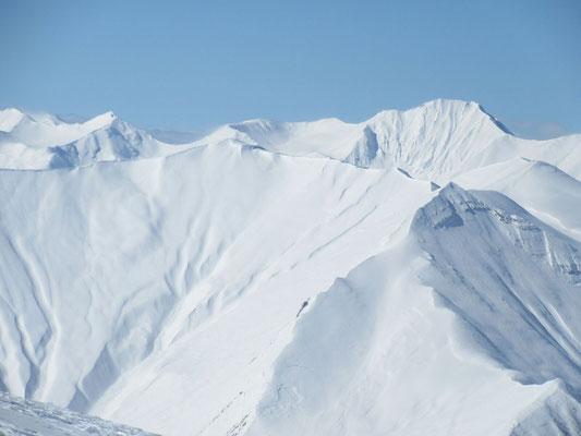 Gudauri: Lange Skitour auf den Mount Miketi