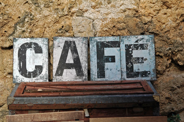 enseigne café