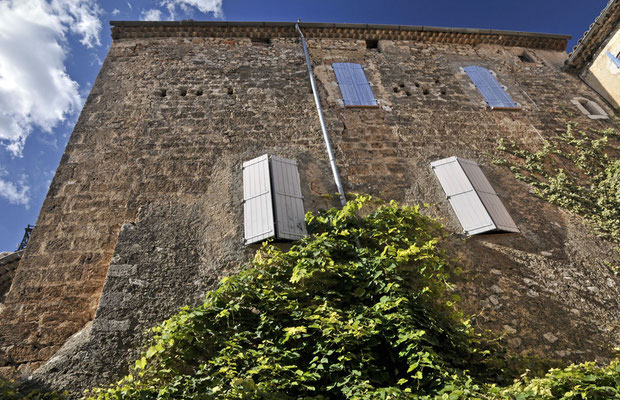 mur de l'ancien château