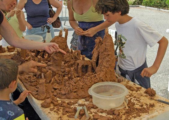 Sculpture participative