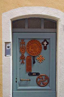 décor sur les portes