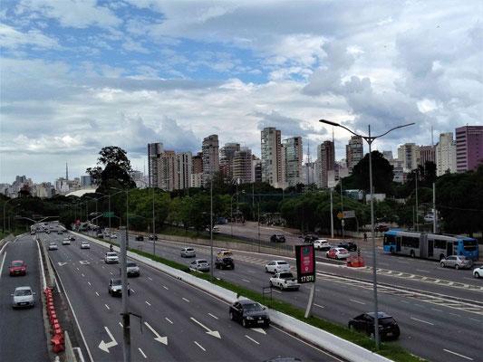 PRES DU PARC IBIRAPUERA DANS LE QUARTIER VILA MARIANA SAO PAULO BRESIL