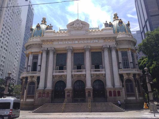 LE THEATRE MUNICIPAL A RIO DE JANEIRO BRESIL