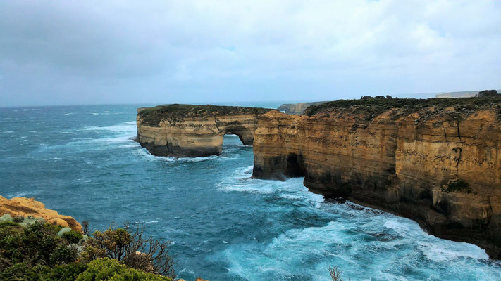 LOCH ARD GORGE SUR LA GREAT OCEAN ROAD AUSTRALIE