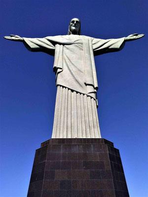 LE CORCOVADO OU CHRIST REDEMPTEUR A RIO DE JANEIRO BRESIL