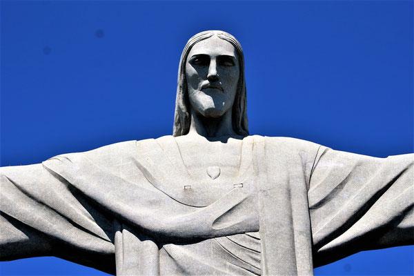 LE CORCOVADO CHRIST REDEMPTEUR A RIO DE JANEIRO BRESIL