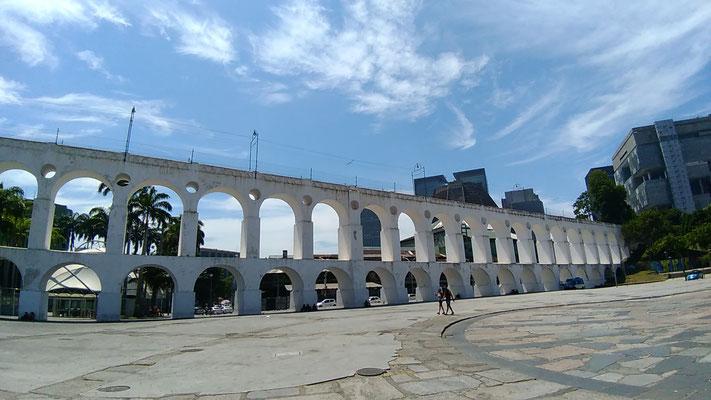 L'AQUEDUC DE CARIOCA A LAPA RIO DE JANEIRO BRESIL