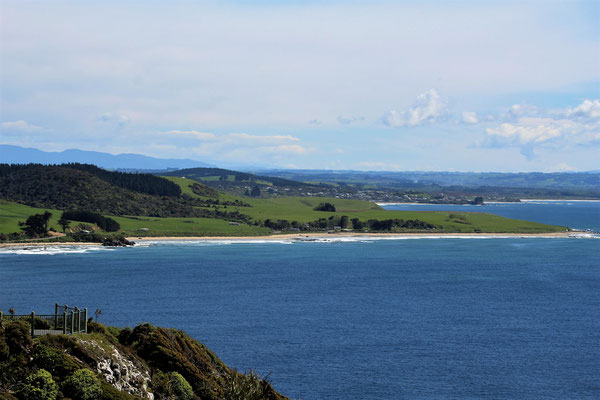 DEPUIS NUGGETS POINT SUR KAKA POINT ILE DU SUD NZ