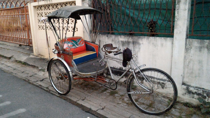 TRICYCLE A CHIANG MAI THAILANDE