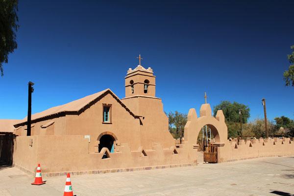 EGLISE DE SAN PEDRO DE ATACAMA CHILI