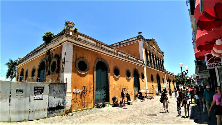 L'ANCIENNE DOUANE A FLORIANOPOLIS BRESIL