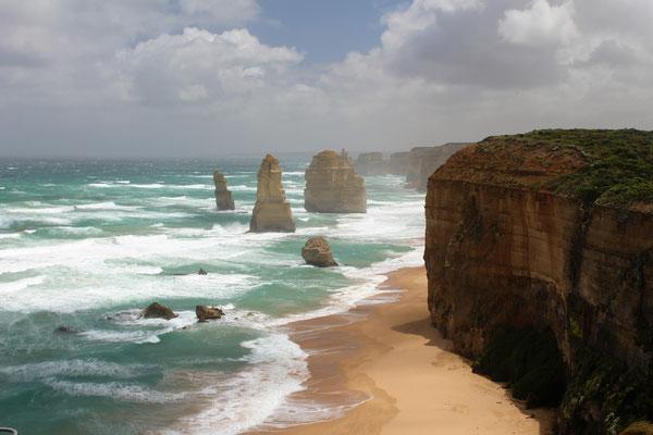 LES 12 APÔTRES SUR LA GREAT OCEAN ROAD AUSTRALIE
