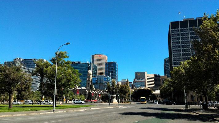 LA CITY ET VICTORIA SQUARE ADELAÏDE SOUTH AUSTRALIA AUSTRALIE