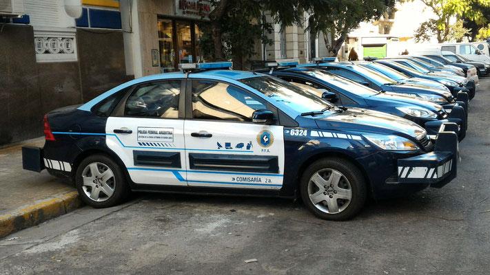 VOITURE DE POLICE DE BUENOS AIRES ARGENTINE