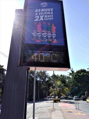 LA TEMPERATURE A 17H A RIO DE JANEIRO BRESIL