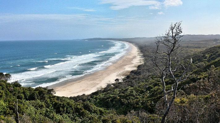 PLAGE SUD BYRON BAY AUSTRALIE