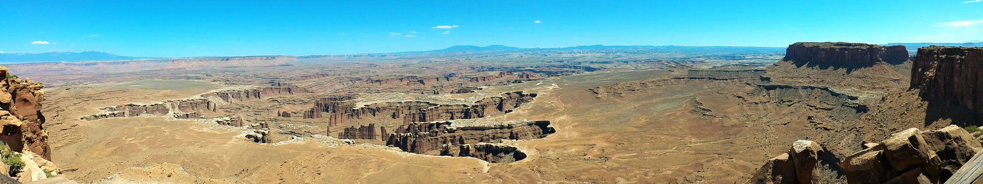 GRAND VIEWPOINT OVERLOOK ISLAND IN THE SKY CANYONLANDS NP UTAH