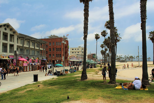 LE FRONT DE MER A VENICE LOS ANGELES CALOFORNIE
