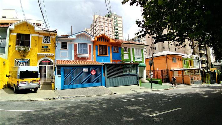 MAISONS PRES DE L'HOSTEL DANS LE QUARTIER VILA MARIANA SAO PAULO BRESIL