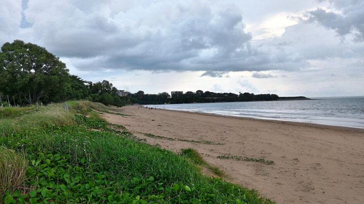 MINDIL BEACH AVANT L'ORAGE DARWIN NORTH TERRITORY AUSTRALIE