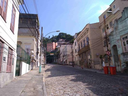 UNE RUE DU QUARTIER SANTA THERESA RIO DE JANEIRO BRESIL