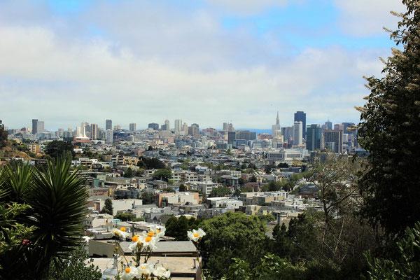 PANORAMA L'OUEST DE CASTRO ET SAN FRANCISCO CALIFORNIE