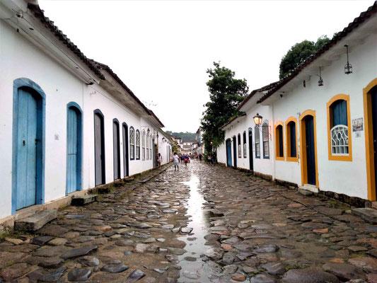 RUE DU CENTRE HISTORIQUE DE PARATY BRESIL