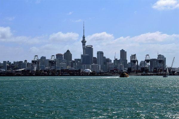 AUCKLAND VUE DU FERRY ILE DU NORD NZ