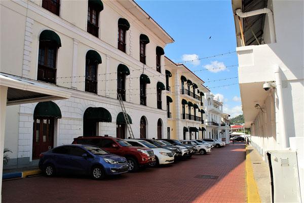 LES BATIMENTS DE LA PRESIDENCE A PANAMA VIEJA
