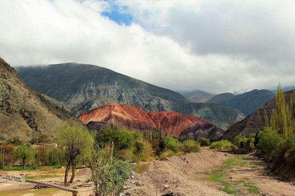 PASEO DE LOS COLORADOS SUR ROUTE NORD SALTA ARGENTINE