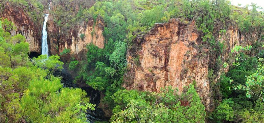 PANORAMIQUE DE TOLMER FALLS LITCHFIELD NP SUD DE DARWIN AUSTRALIE