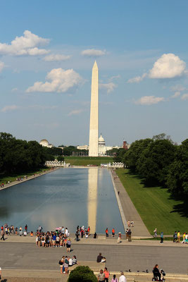 LE WASHINGTON MONUMENT ET LE CAPITOLE