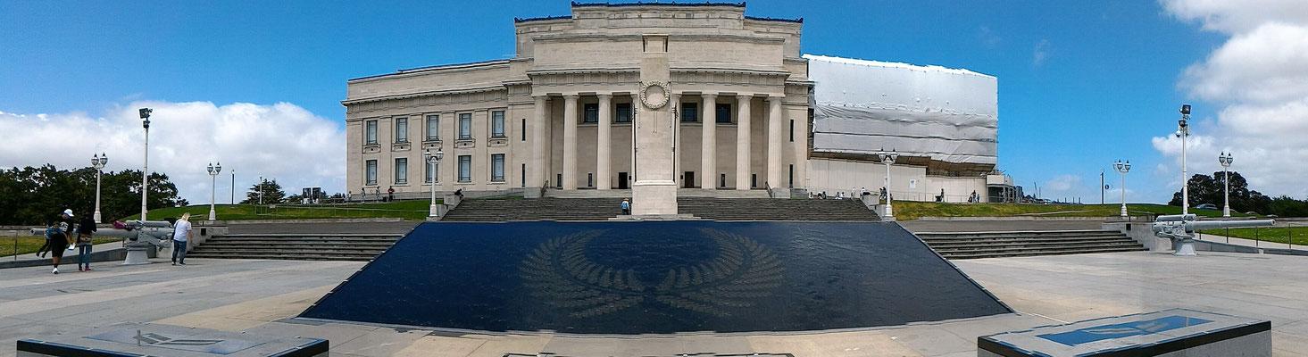 LE AUCKLAND WAR MEMORIAL MUSEUM AU WINTERGARDENS AUCKLAND ILE DU NORD NZ